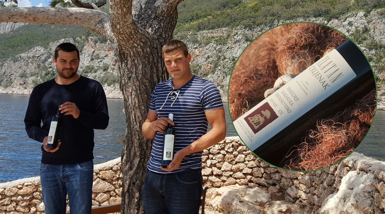 Marin i Nikola Plenković u Svetoj Nedjelji pred borom koji je svima znan s etikete njihovih vina