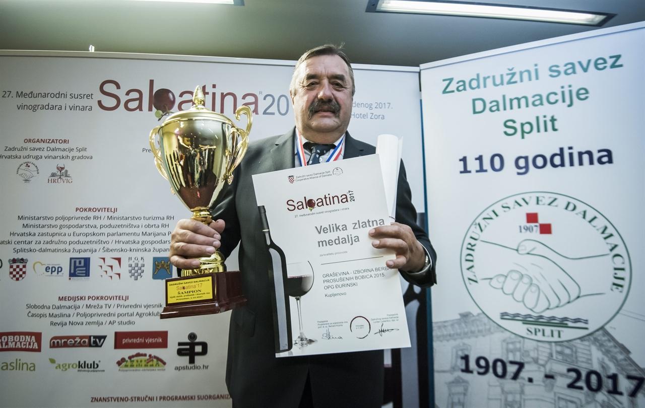 Šampion Sabatine 2017 - OPG Đurinski iz Kupljenova