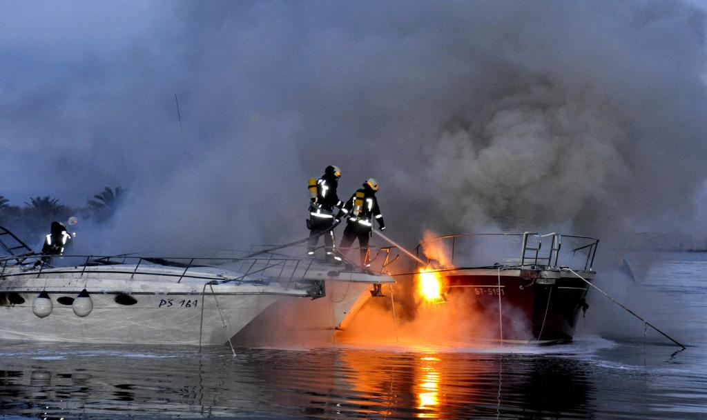 Kad se vatra rasplamsa, gašenje postaje vrlo teško