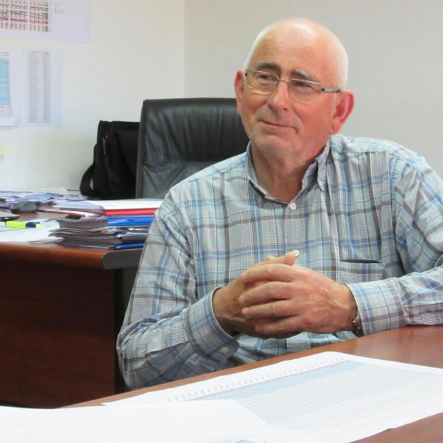 Tonči Trutanić direktor je 'Vodovoda' od 1992. godine<br />