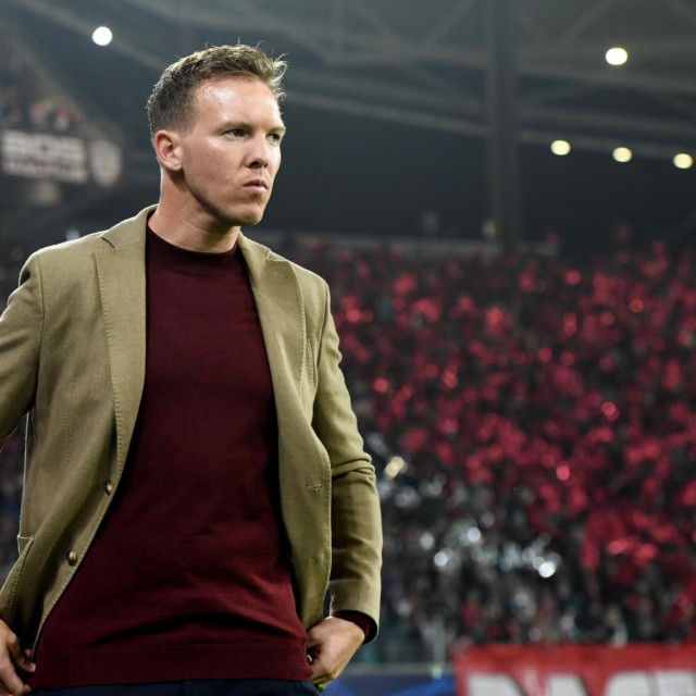 Soccer Football - Champions League - Group G - RB Leipzig v Zenit Saint Petersburg - Red Bull Arena, Leipzig, Germany - October 23, 2019 RB Leipzig coach Julian Nagelsmann before the match REUTERS/Annegret Hilse - RC17E74CD250