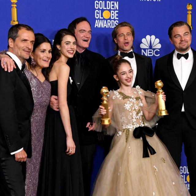 Zvjezdana ekipa 'Bilo jednom u... Hollywoodu' slavila je na Zlatnim globusima, ali Oscar je druga priča