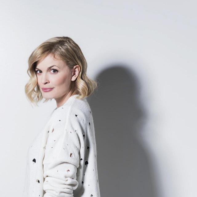 Zagreb, 300117.<br /> Televizijska voditeljica Nevena Rendeli.<br />