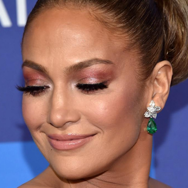 US actress Jennifer Lopez arrives for the 31st Annual Palm Springs International Film Festival (PSIFF) Awards Gala at the Convention Center in Palm Springs, California on January 2, 2020. (Photo by Chris Delmas/AFP)