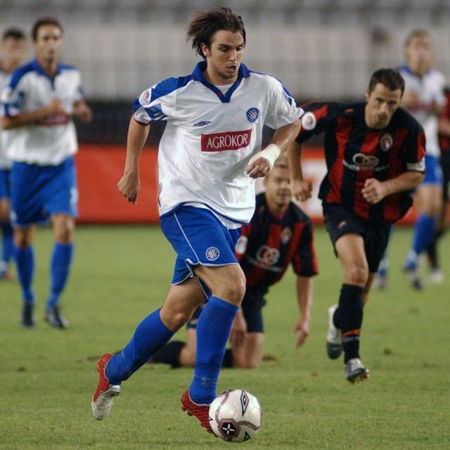 Split,13.08.2005. SPORT Hajduk -Medjimurje Niko Kranjcar Foto Bozo VUKICEVIC
