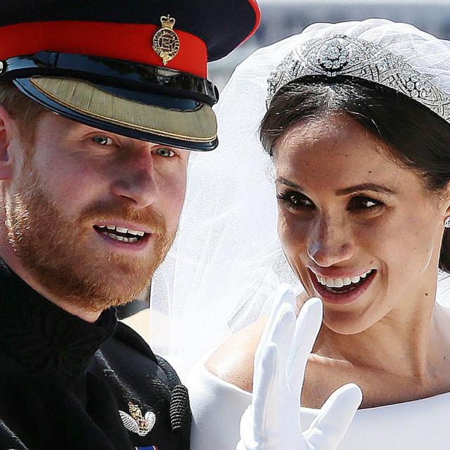 Britanski kladioničari nisu optimistični po pitanju opstanka braka princa Harryja i Meghan Markle AFP