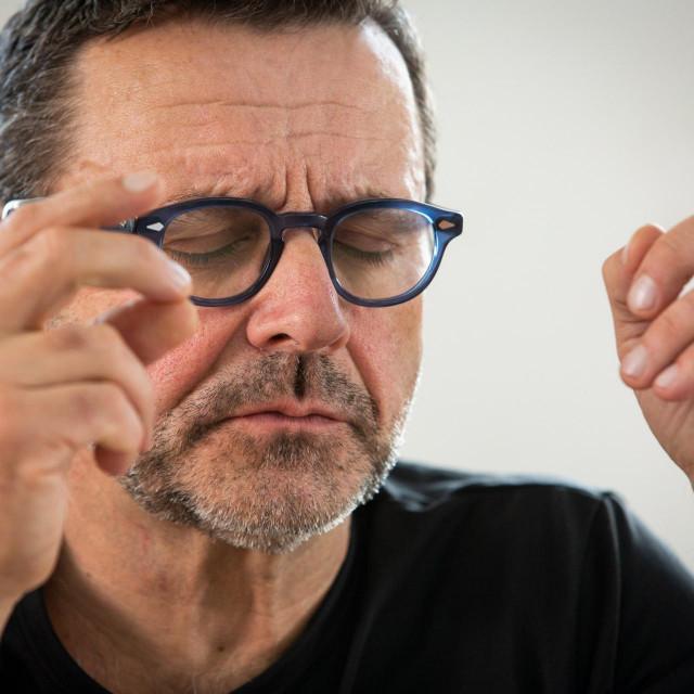 Krešimir Dolenčić na probama mjuzikla 'Bambina', koji će imati premijeru 14. veljače