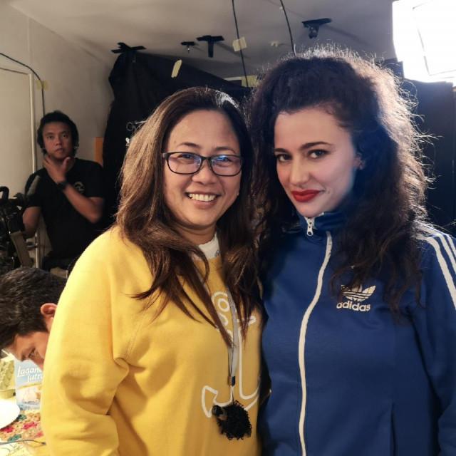 Zorana i Cathy Garcia Molina (redateljica)