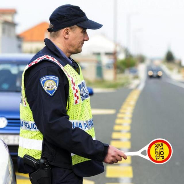 prometna policija za zadarski