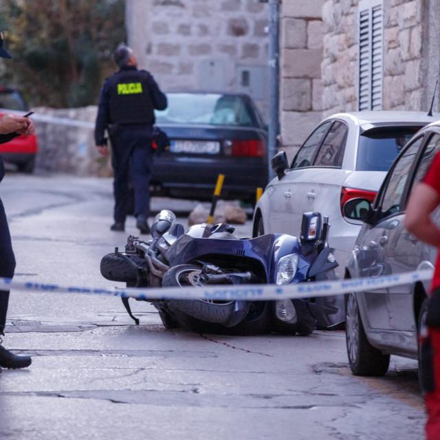 Split, 110120.<br /> Trostruko ubojstvo na splitskim ulicama na Sperunu i u Radmilovica ulici.<br /> Na fotografiji: Radmilovica ulica<br />