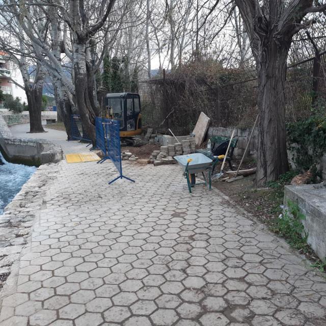 Radovi uz šetnicu na Jadru kod Gašpine mlinice<br />