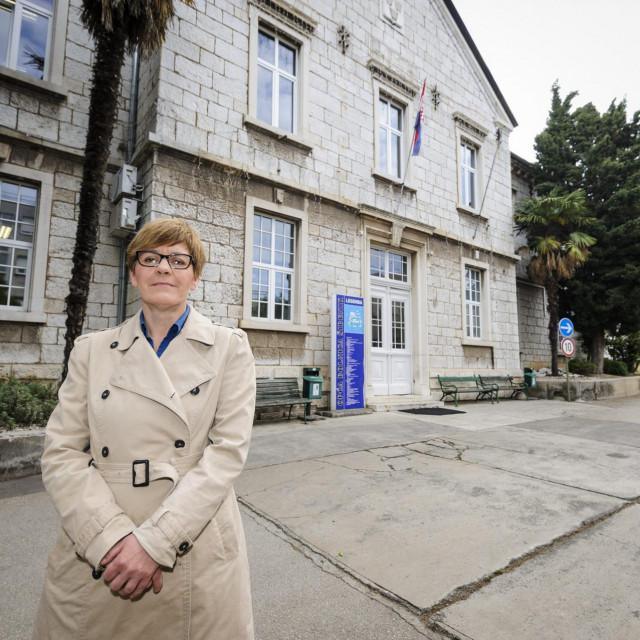 Sibenik, 210519.<br /> Doktorica Sanja Jakelic, ravnateljica OB Sibenik<br />
