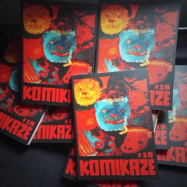 Naslovnica nagrađenog, osamnaestog broja hrvatskoga strip-albuma