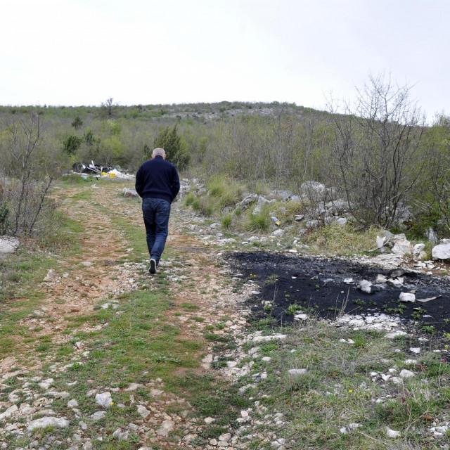 Lokacija u Lećevici na kojoj će se graditi Centar<br />