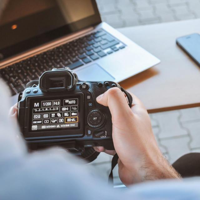 Fotoreporter, fotograf, fotić, fotoaparat