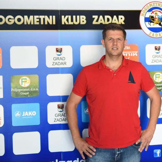 Direktor NK Zadra Damir Kneževic ujedno je i predsjednik Udruge HNK Zadar