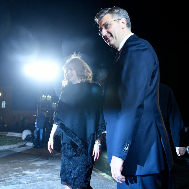 Andrej Plenković i Kolinda Grabar Kitarović
