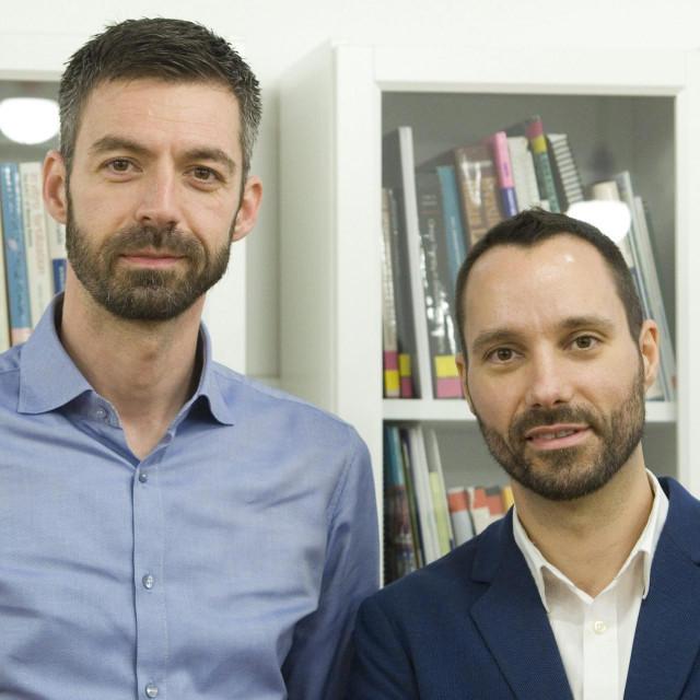 Mladen Kožić i Ivo Šegota