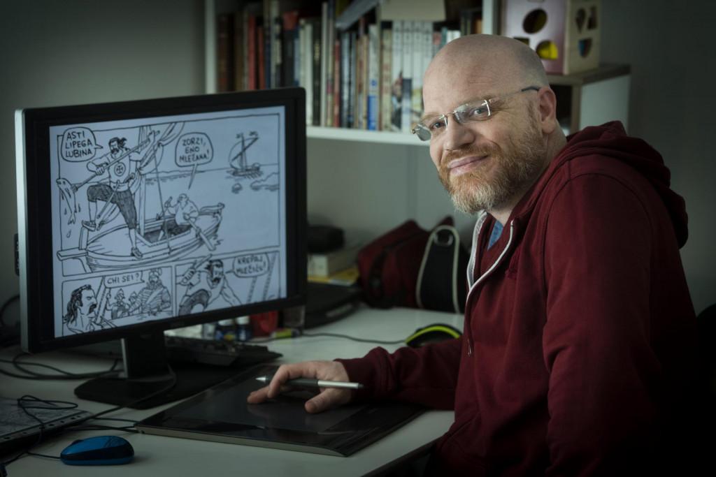 Svi slavni strip-autori bili su nadljudski marljivi. Ne znam je li se tu radilo o potrebi da se preživi ili o opsesivno-kompulzivnom poremećaju<br />