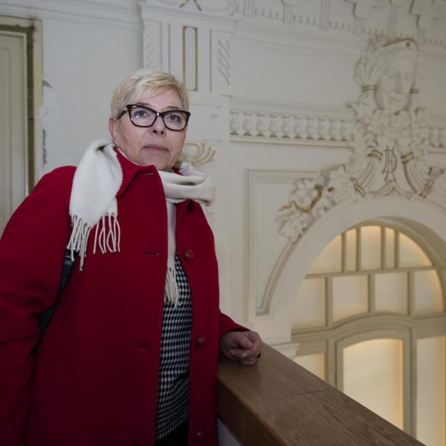 Bez odobrenja konzervatorice Sanje Buble, u Hrvatski dom nije ušla ni jedna pločica, kvaka ni svjetiljka
