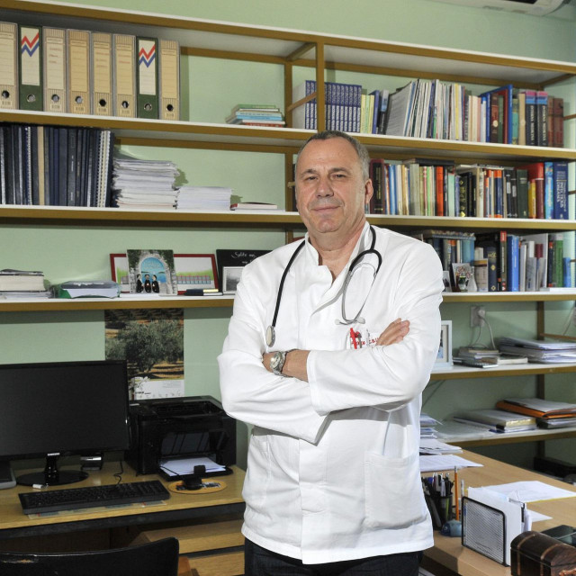 Pacijentica je bila hospitalizirana na Odjelu dr. Borisa Lukšića