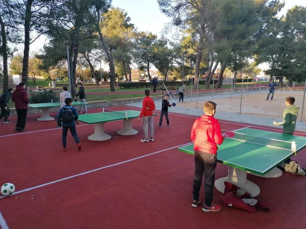 Stolni tenis na Višnjiku