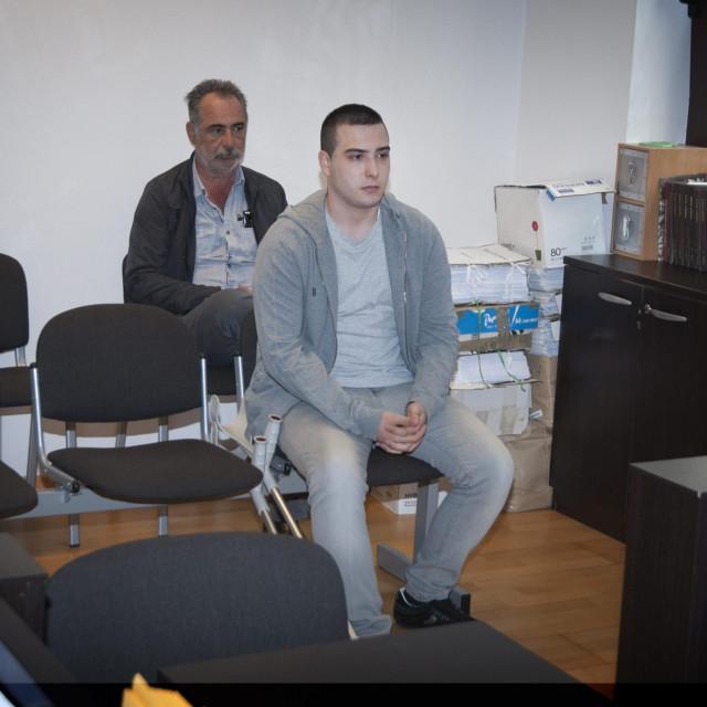 Sa suđenja Marinu Šalovu za ubojstvo Tomislava Jurića Grgića u Dogradama kod Trogira 2016.