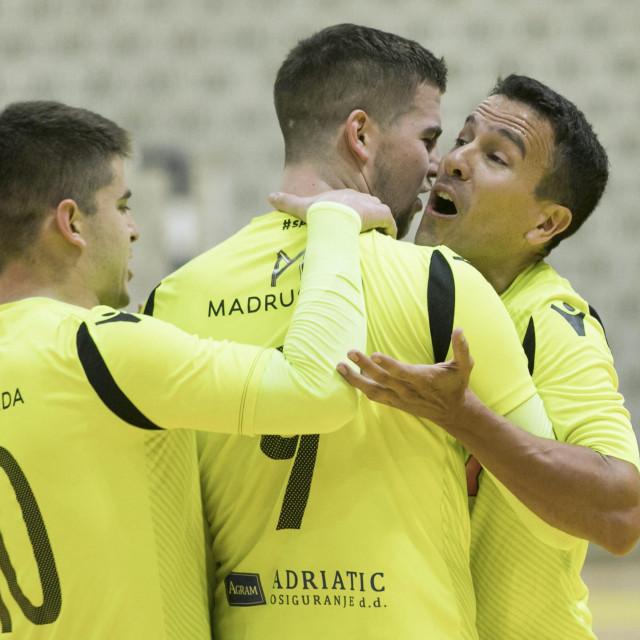 Split, 120120.<br /> Dvorana Gripe.<br /> Futsal PH susret Split - Alumnus.<br /> Na fotografiji: Fernando Wilhelm.<br />
