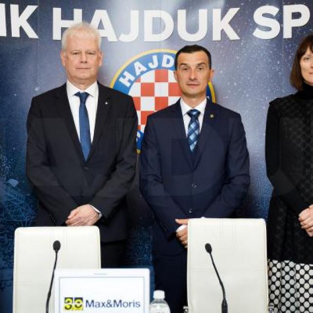 Hajduk i Max Moris potpisali su sponzorski ugovor