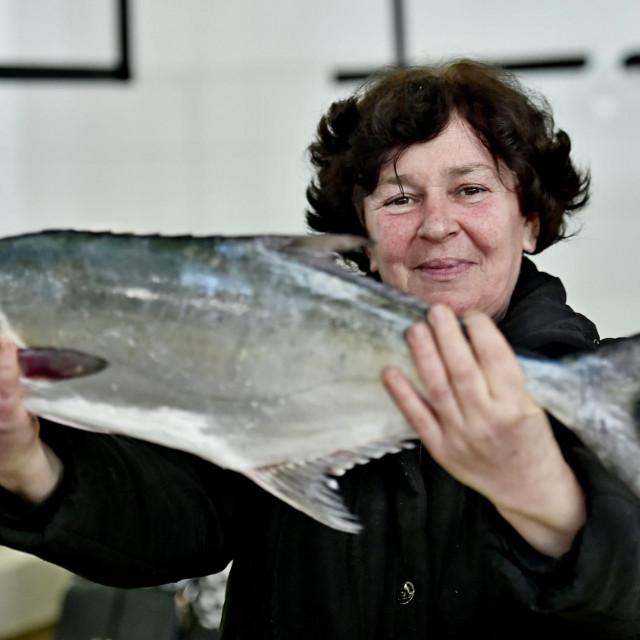 Slavica Sisgoreo sa licom koja se danas prodavala za 70 kuna po kilu