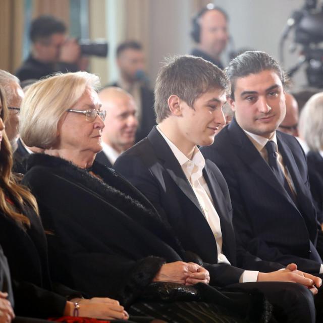 Maša Milanović, Gina Milanović, Marko Milanović i Ante Jakov Milanović