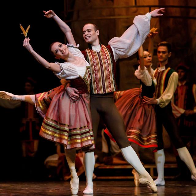 Karpilovska kao Swanilda u 'Coppeliji', koja će od petka do utorka imati četiri izvedbe<br />