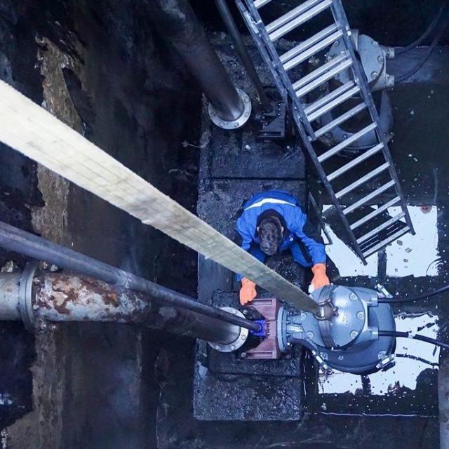 Novom pumpom do veće stabilnosti sustava odvodnje povijesne jezgre Dubrovnika