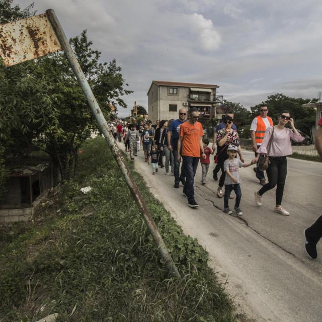 Stanovnici Kile nekoliko puta su prosvjedovali u borbi za normalan pristup svojim domovima ANDREA TOPIĆ