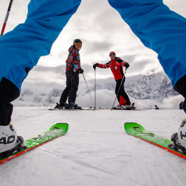 Skijalište Sexten iz sustava Dolomiti Superski u južnom Tirolu s 100 km povezanih staza