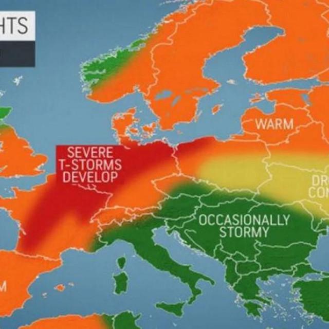 Mnoga područja od ožujka do lipnja, odnosno kroz 3 proljetna mjeseca pratit će dugotrajni periodi suhog vremena, no bit će i kraćih razdoblja nestabilnosti uz česte oluje.