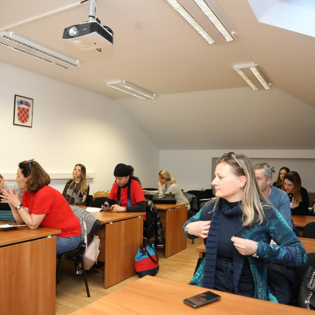 Božo Radić/HANZA MEDIA:Facebook radionica u Centru za poduzetništvo