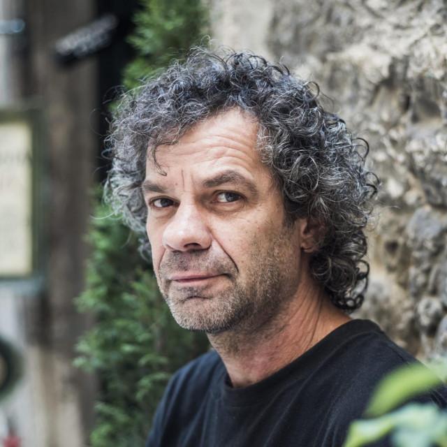 Sibenik, 060819.<br /> Zvonimir Vila, akademski slikar i graficar.<br />