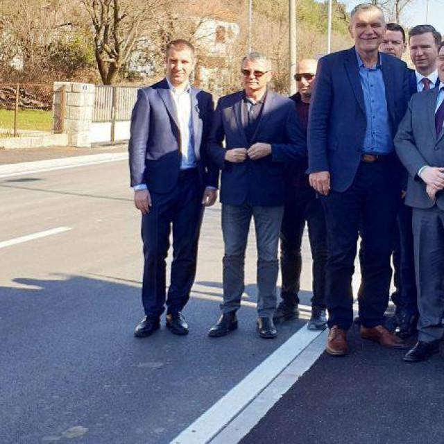 Obilazak uređene dionice ceste u Drnišu