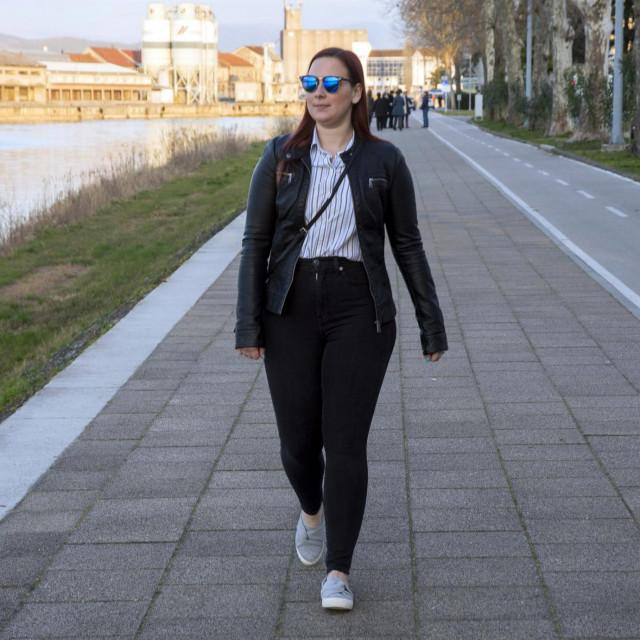 Ani Vulić Damtare radi kao prevoditeljica natrenutačno najvećem gradilištu u Hrvatskoj