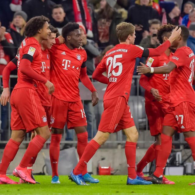 Slavlje igrača Bayerna