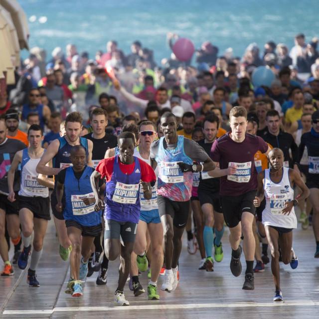 Na prošlogodišnjoj je utrci sudjelovalo više od 2500 trkača