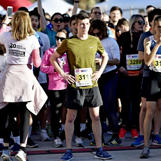 Start utrke Trofej Slobodne Dalmacije