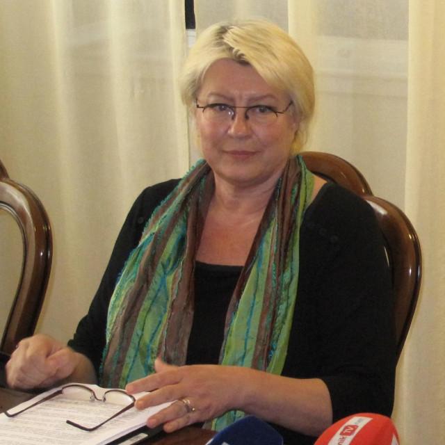Marina Oreb, ravnateljica Zavoda za prostorno planiranje Dubrovacko-neretvanske zupanije