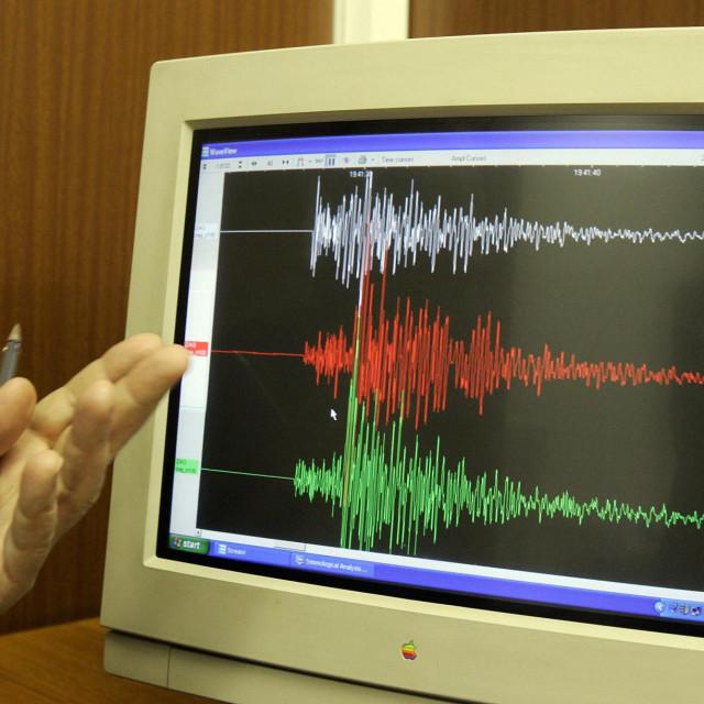 <br /> ILUSTRACIJA: Drzavni seizmoloski zavod.<br />