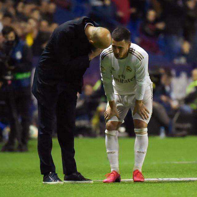 Hazard u razgovoru sa Zidaneom