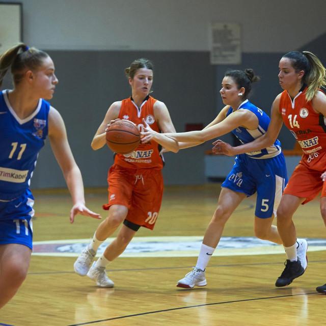 Košarkašice Šibenika pobijedile Zadar