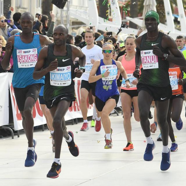 Početak polumaratona i maratona