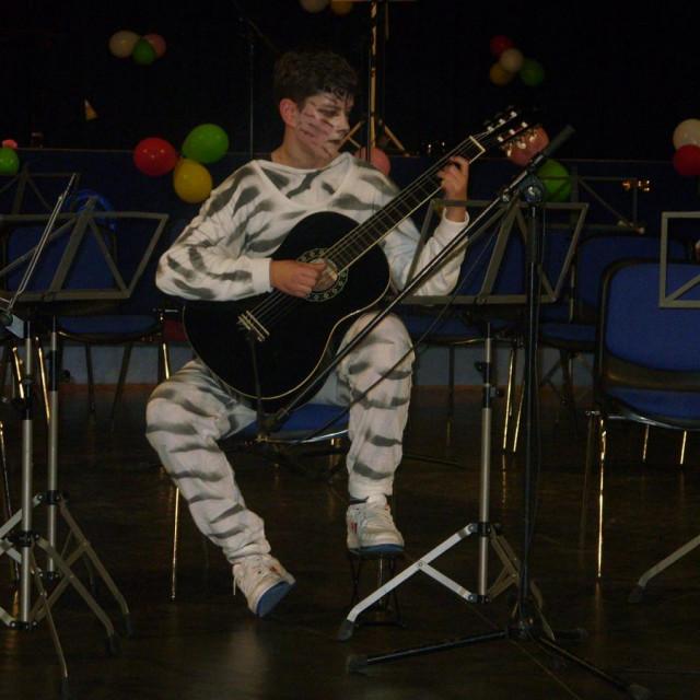 Kostimirani koncert učenika glazbene škole Korčula