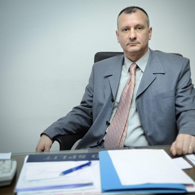 Bivši upravitelj splitskog zatvora na Bilicama Marinko Bujas.<br />